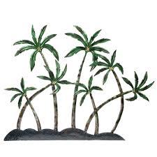 Palm Tree Wall Decor Globe Imports