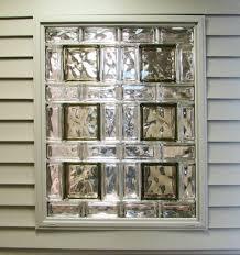 designer window glass block shower
