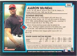 Aaron McNeal Gallery - 2001 | Trading Card Database