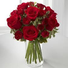 ftd red romance rose bouquet gta