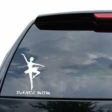 Dance Mom Vinyl Decal Pink Sticker Car Window Bumper
