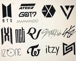 Kpop Decal Etsy