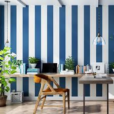 Modern Pink Blue White Stripe Wallpaper For Kids Room Baby Boy Girl Bedroom Wall Paper Self Adhesive Non Woven Wallpapers Qz037 Wallpapers Aliexpress