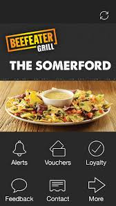 the somerford beefeater grill iphone