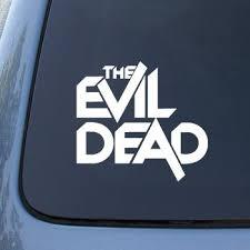 Amazon Com The Evil Dead Vinyl Car Decal Sticker 1830 Vinyl Color Black Automotive