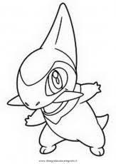 Pokemon Paradijs Kleurplaat Pikachu Snivy Pansage Oshawott
