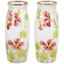 french art nouveau glass vases