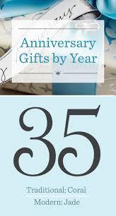 35th wedding anniversary gifts