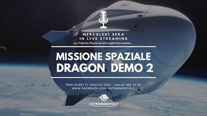 Lancio SpaceX Dragon Demo 2 in Diretta Video HD