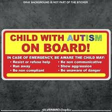 Autism Bumper Stickers Awareness Support Educate Advocate Sticker Free Toqueglamour