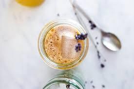 iced lavender london fog latte