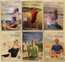 6 gaiam yoga workout dvd lot rodney yee