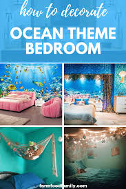 25 Ocean Themed Bedroom Ideas How To Design An Beach Bedroom Mermaidbedroom Little Girls Love M Ocean Decor Bedroom Ocean Themed Bedroom Beach Themed Bedroom
