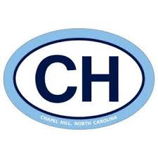 Sds Design North Carolina Tar Heels Official Logo Euro Car Decal