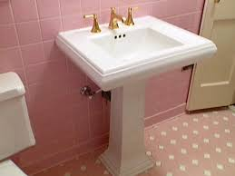 pedestal sink installation how tos diy