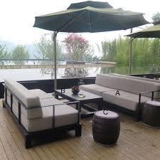 outdoor luxury hotel modern metal frame