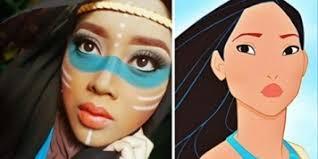 disney characters makeup tutorial