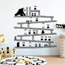 Game Vinyl Wall Decal Video Game Wall Sticke Super Mario Decal Game Room Home Decor Kids Room Boys Room Home Art Mural M158 Wall Stickers Aliexpress