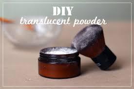 translucent homemade face powder recipe