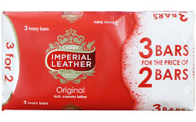 imperial leather original soap 3 bars