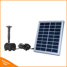 9v 2w solar powered water fountain pump