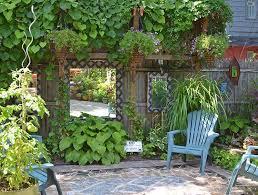 Nice How To Make A Small Garden Look Bigger12 Optimization Garden Mirrors Small Garden Design Small Garden