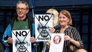 Johnson promete un Brexit sin una frontera dura en Irlanda del Norte