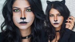 easy cat makeup for halloween you