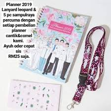 planner jururawat shopee