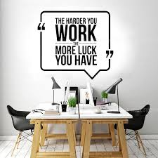 Modern Office Quotes Wall Sticker Vinyl Interior Decoration Work Pattern Business Motivation Decals Removable Mural Decor A580 Buy At The Price Of 8 96 In Aliexpress Com Imall Com