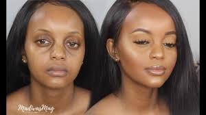 everyday makeup tutorial for dark skin