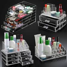 cosmetic organizer clear acrylic makeup