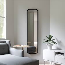 umbra hub leaning full length mirror