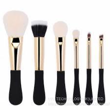 hmj makeup brush set 6pc high quality