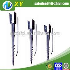 Post Anchor Screw Anchor Fence Spike Concrete Screw Anchor