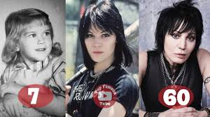 Joan Jett | Transformation From 6 To 60 Years Old - YouTube