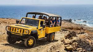 jeep tour in aruba by de palm tours