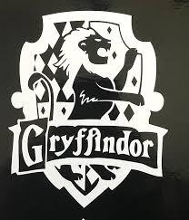 Amazon Com Harry Potter Gryffindor House Crest Vinyl Decal For Computer Car Etc Everything Else