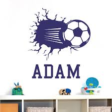 3d Soccer Wall Decal Trendy Wall Designs