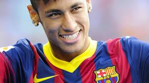 soccer star neymar jr shows off