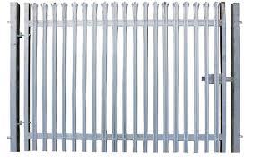 3 0m X 5 0m Single Leaf Palisade Security Gate First Fence Ltd