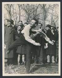 Photo of the Day: Walter Johnson Throws a Silver Dollar Across the  Rappahannock River