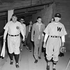 This Day in Yankees history: Walter Johnson vs. Babe Ruth, for charity -  Pinstripe Alley