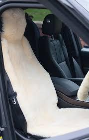 sheepskin car seat cover house of bruar