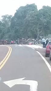 Camión despistó sobre la ruta 12 | Stop en línea