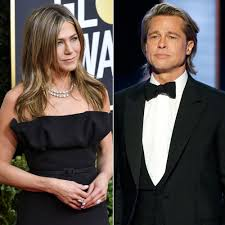 Jennifer Aniston Cheers on Brad Pitt at the Golden Globes 2020