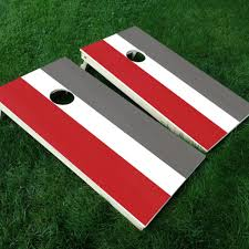 Cornhole Board Decal Ohio State Buckeyes College Football Colors The Decal Bros