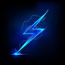 blue lightning bolt wallpaper