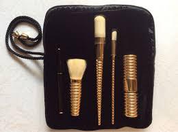 yves saint lau makeup brush set