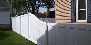 Vinyl Fence Vinyl Fence Installation Milwaukee Badger Fence